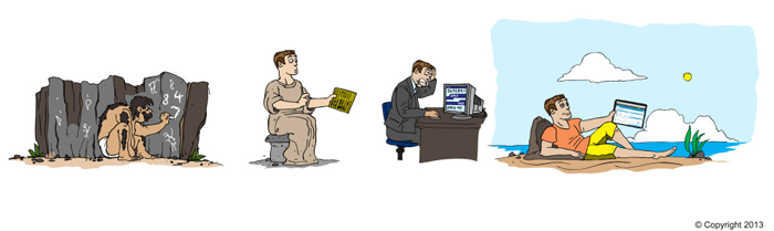 evolution of accountants